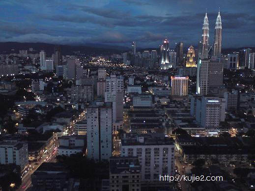 Menara Berkembar Petronas dari The Mall