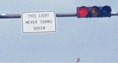 never green