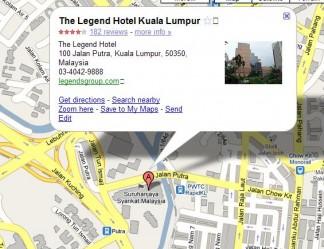 the legend hotel kuala lumpur