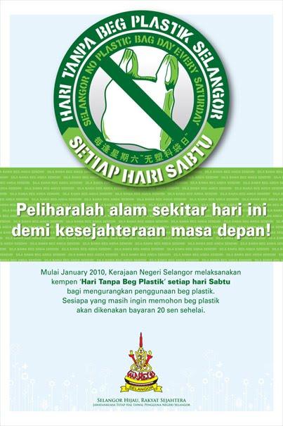 Berjayakah Hari Tanpa Beg Plastik