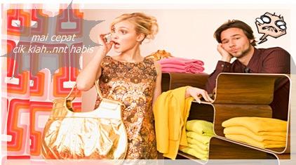 Tips Rumahtangga – Mengikut Isteri Shopping