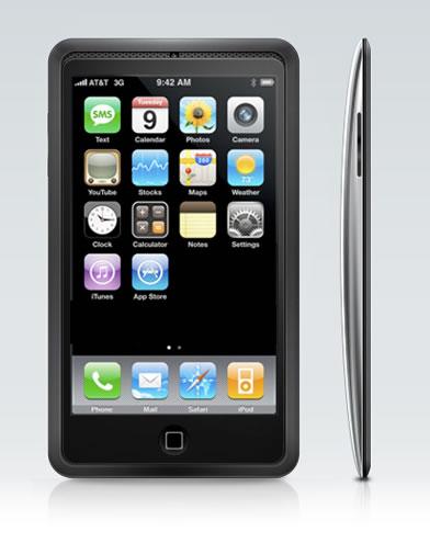 iPhone 4 Zaman Flintstone