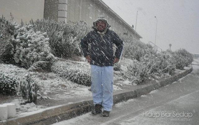 keadaan musim salji di algeria
