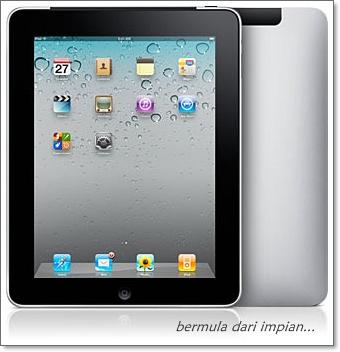 Makcik Pun Nak Apple ipad 2 Malaysia