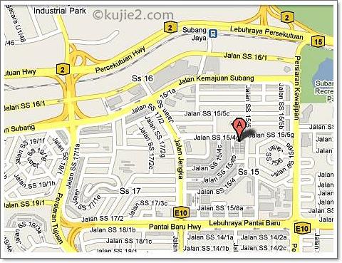 Tanpa Garmin Ke Subang Square
