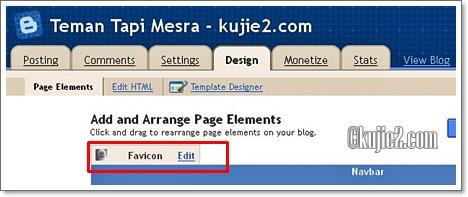 Cara Pasang Favicon Blog