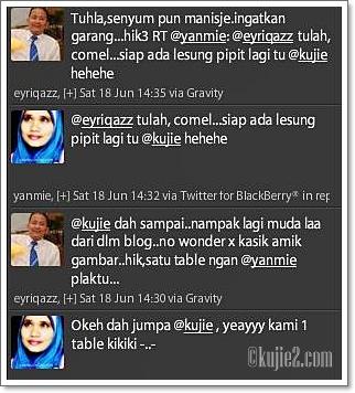 Jumpa Anak Isteri Blogger
