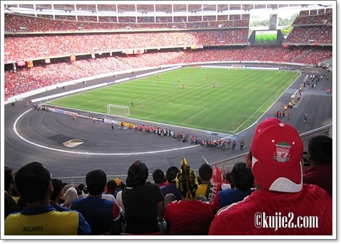 Keputusan Malaysia Lawan Liverpool Asia Tour 2011
