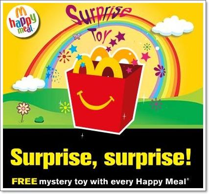 Hadiah Misteri Dari McDonald's