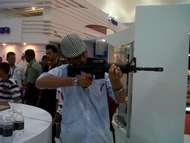 jenis senjata angkatan tentera