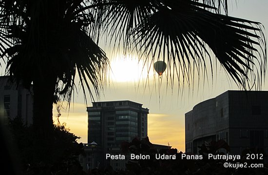 pesta belon udara panas putrajaya 2012