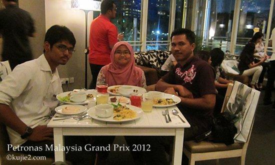 petronas malaysia grand prix  makan malam