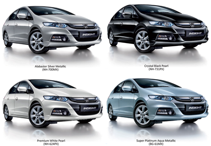 Honda Insight Edisi 2012 Dilancarkan