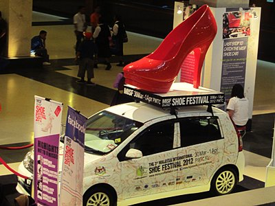 Malaysia Internation Shoe Festival 2012