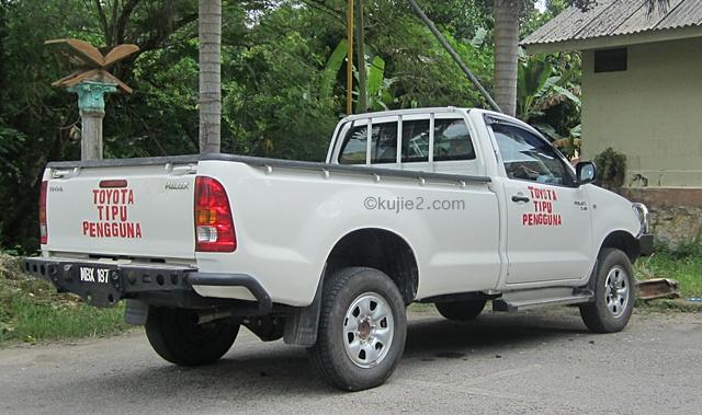 Toyota Tipu Pengguna : Jangan Cari Saya, Hubungi Pemilik Kereta!