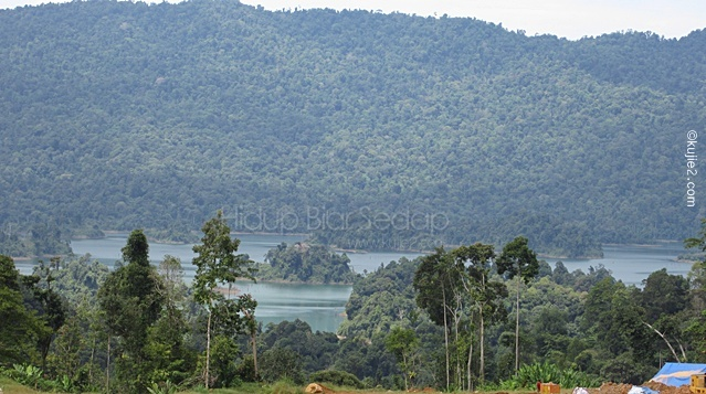 Projek Empangan Hidroelektrik Tasik Kenyir, Hulu Terengganu ( Puah Dam )