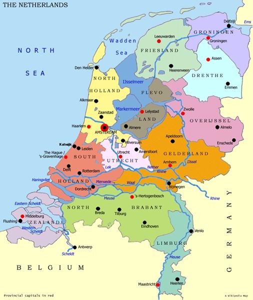 EURO 2012 – Belanda Adalah Netherlands Bukan Holland
