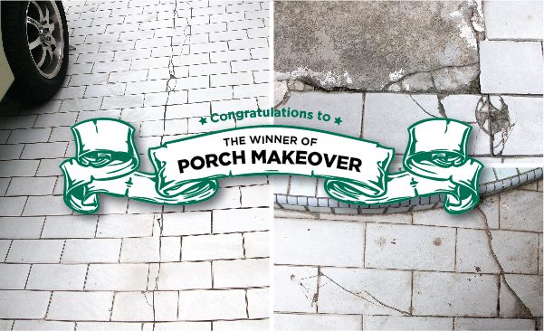 pemenang porch makeover mml