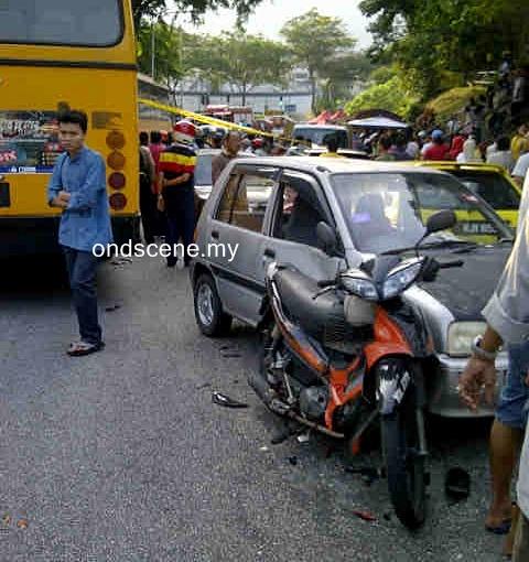 kemalangan 1 ogos au3 keramat bas sekolah
