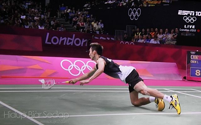 lee chong wei menang separuh akhir badminton olimpik 2012