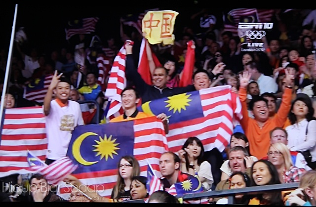 penyokong malaysia olimpik 2012
