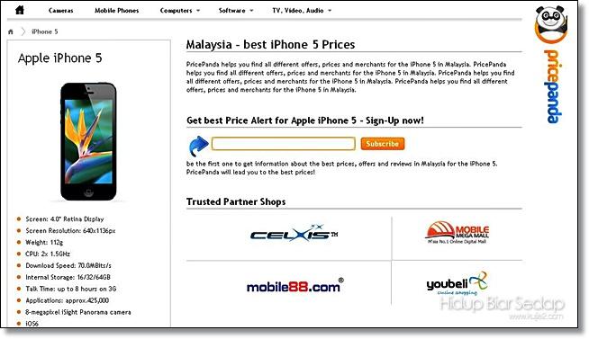 harga iphone 5 malaysia