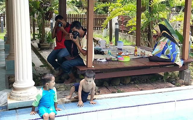 santai bersama keluarga