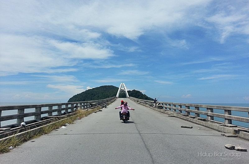 Tanpa Papantanda, GPS Temukan Kami Dengan Jambatan Pulau Bunting