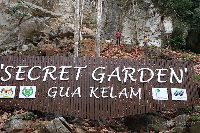 Secret Garden Gua Kelam Selepas Setahun Dilanda Banjir
