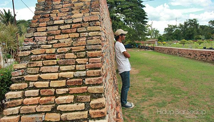 tembok kota kuala kedah