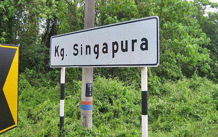 kampung di singapura