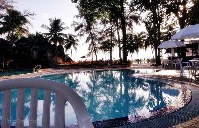 kolam renang legend cherating resort