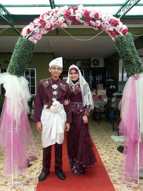 Selamat Pengantin Baru Azrul & Amrina