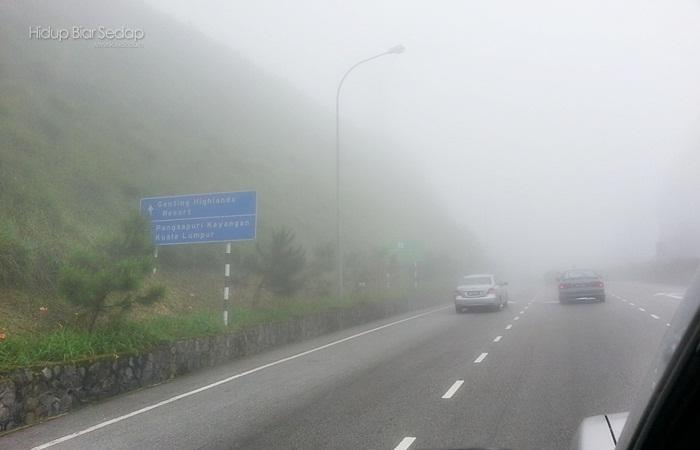 cuaca di genting highlands