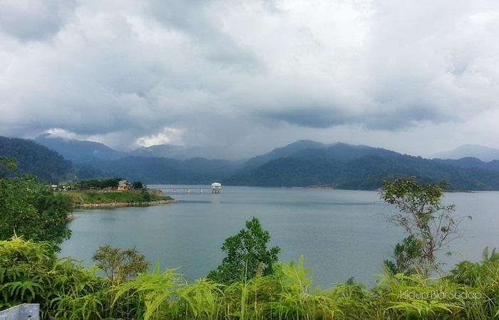 Gambar Empangan Sungai Selangor Terkini – Beza Bulan Oktober 2012 Dan Januari 2013