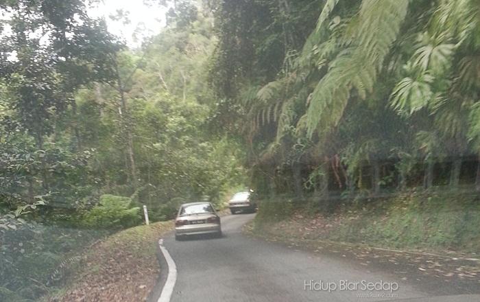 jalan sehala ke bukit fraser