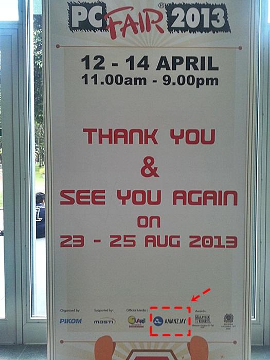 Sebelum Dan Selepas Pikom Pc Fair 2013