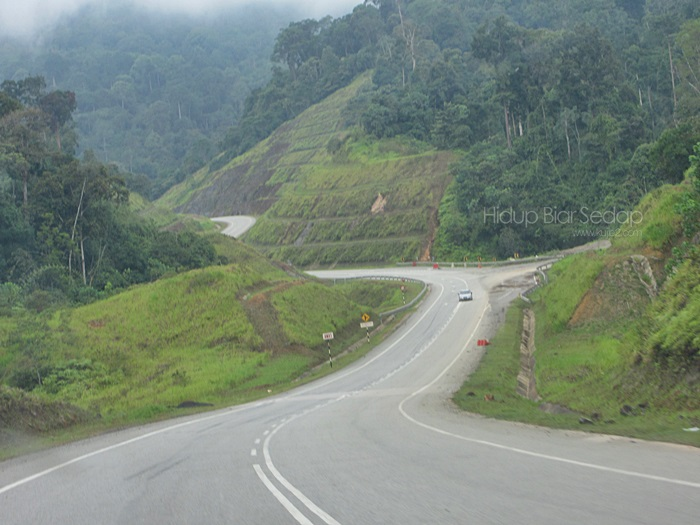 Jalan Gua Musang – Tasik Kenyir Melalui Felda Aring