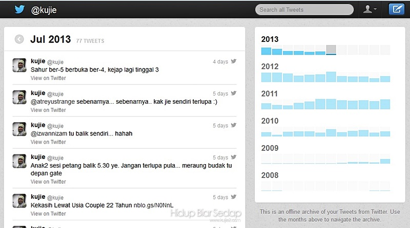 sejarah Twitter