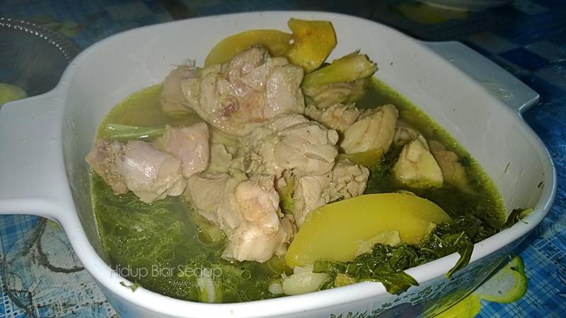 ayam pansuh sarawak