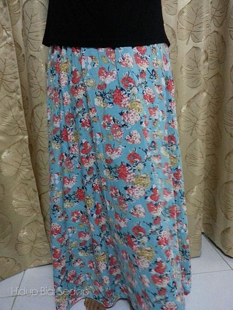 beli skirt muslimah online
