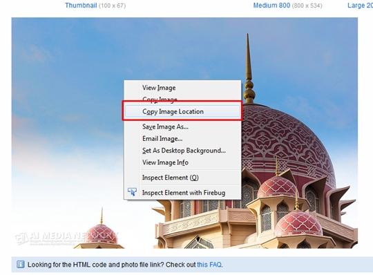 Bagaimana Menjimatkan Bandwidth Imej Menggunakan FlickR