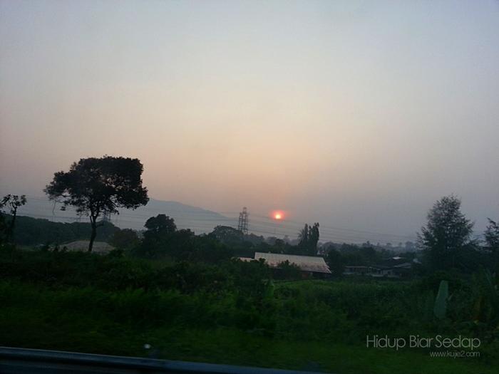 matahari naik