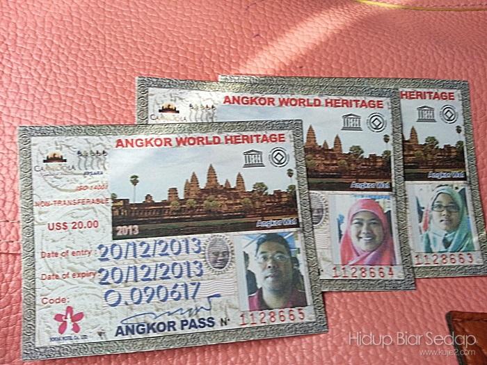 siem reapangkor pass