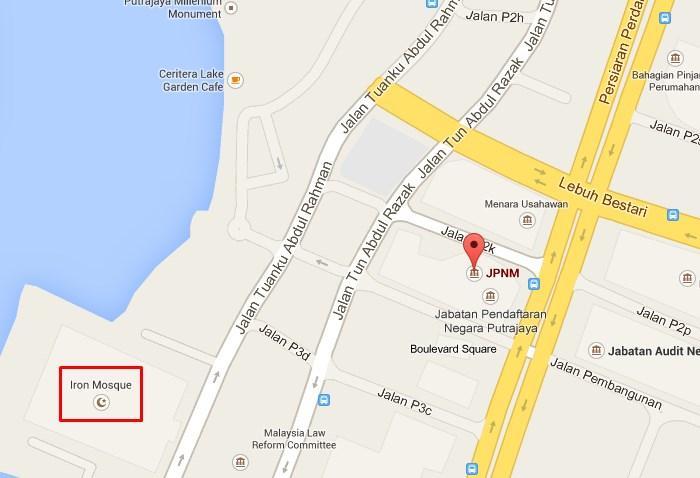 lokasi JPN Putrajaya