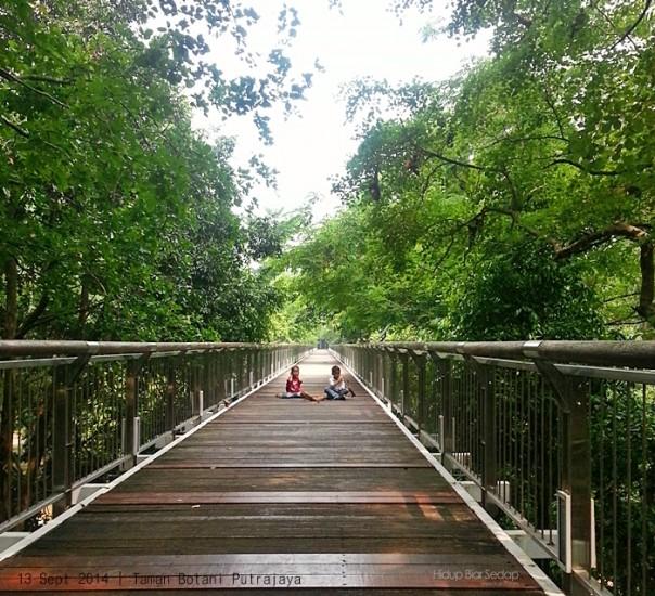 jambatan kanopi taman botani putrajaya