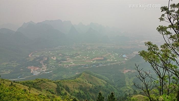 pemandangan gunung yao guilin